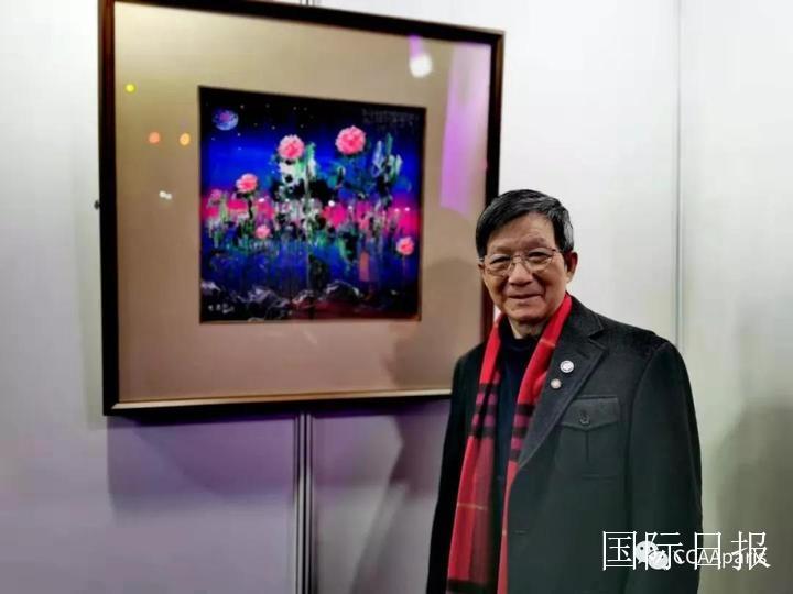 2019-lan慈善私宴举行_黄建南捐《梦之花》拍得80万