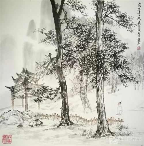 山水传情_笔墨铸爱_――画家彭龙溪艺术人生